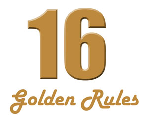 The 16 golden rules of networking always have distinctive and colorful business card reheart Image collections
